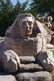 De Sfinx bij Gilgal-Beeldhouwwerktuin stock foto
