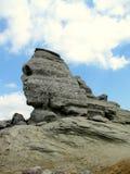 De Sfinx bij het Natuurreservaat van Bucegi Stock Afbeelding