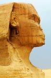 De Sfinx en de Piramides Royalty-vrije Stock Afbeeldingen