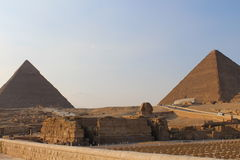 De Sfinx in Giza Stock Foto
