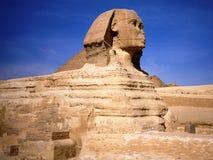 De sfinx in Kaïro in Egypte Stock Afbeeldingen