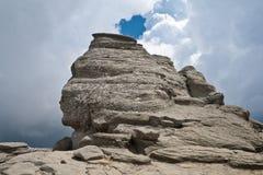 De sfinx van Bergen Bucegi Royalty-vrije Stock Foto's