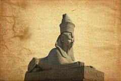 De sfinx van de steen Stock Foto