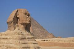 De sfinx van Giza Stock Foto