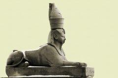 De sfinx van het graniet in Petersburg Royalty-vrije Stock Afbeeldingen