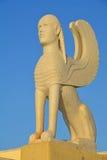 De Sfinx van Naxos Stock Foto