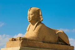De Sfinx van Pompey Royalty-vrije Stock Fotografie