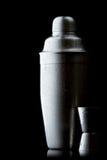 De shaker van het roestvrij staal met druppeltjes Stock Fotografie