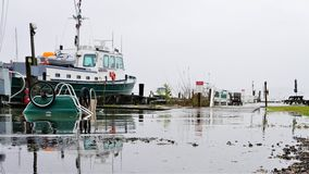 De Shattemuck do yacht club maré alta raramente dentro nem 'Páscoa imagem de stock