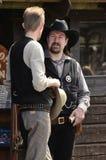 De sheriff van de cowboy Stock Foto's