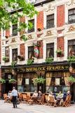 De Sherlock Holmes-bar Londen, Westminster royalty-vrije stock foto's