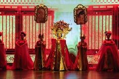  de show†de scénarios d'échelle de princesse Wencheng-Large le  de legend†de route Photos stock