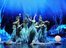  de show†de scénarios de l'échelle du Dragon King de mer le Palais-grand le  de legend†de route Images stock