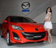 De Show van de Motor van Bangkok - Mazda Stock Foto