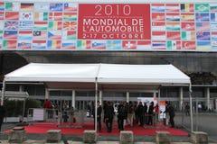 De Show van de Motor van Parijs van de ingang 2010 Stock Fotografie
