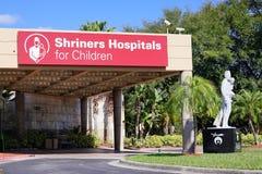 De Shriners sjukhusen för barn Arkivfoto