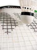 De shuttle van het badminton Royalty-vrije Stock Foto