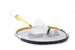 De shuttle van het badminton royalty-vrije stock foto's