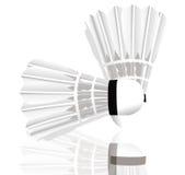 De shuttles van het badminton Royalty-vrije Stock Foto