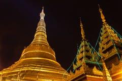 De Shwedagon-Pagode, Yangon royalty-vrije stock afbeelding