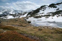 De Siërra DE Guadarrama van de berg Stock Foto