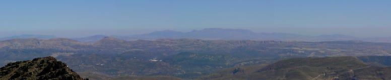 De Siërra Nevada van het panorama Stock Afbeelding