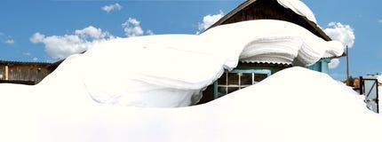 De Siberische winter Royalty-vrije Stock Fotografie