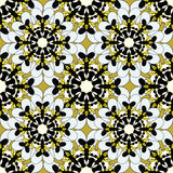 De sier naadloze patroonachtergrond met velen detailleert etnisch traditioneel ornament vector illustratie