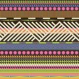 De sierillustratie van de kleur Stock Fotografie