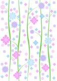 De sierlijke Achtergrond van het Behang royalty-vrije illustratie