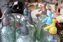 De sifon Antieke markt Barcelona Goth van de soda Royalty-vrije Stock Afbeeldingen
