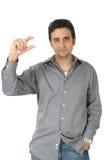 De Signalen van de hand stock foto