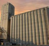 De silo en de lift van de korrel Royalty-vrije Stock Foto
