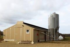 De silo's van de korrel Royalty-vrije Stock Foto's