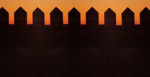 De silo's van de korrel Royalty-vrije Stock Afbeeldingen