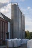 De silo's van de opslag royalty-vrije stock foto