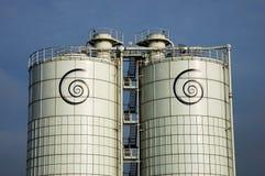 De silo's van Dreamstime royalty-vrije stock foto