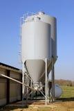 De silo van de korrel Royalty-vrije Stock Afbeeldingen