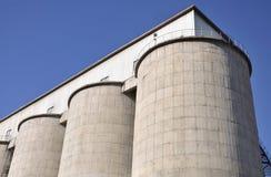 De Silo van het cement Stock Afbeelding