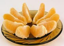 De sinaasappel schikt Stock Foto