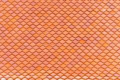 De sinaasappel van daktegels is patroon voor art. stock foto's