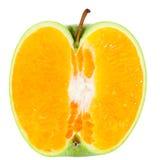 De Sinaasappel van de appel Royalty-vrije Stock Foto's