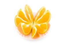 De sinaasappel van de besnoeiing Royalty-vrije Stock Afbeelding
