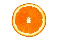 De sinaasappel van de close-up Stock Afbeeldingen