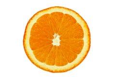 De sinaasappel van de close-up Royalty-vrije Stock Foto's