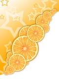 De sinaasappel van de ster royalty-vrije illustratie