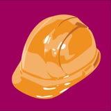 De Sinaasappel van de veiligheidshelm Royalty-vrije Stock Afbeeldingen