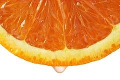 De Sinaasappel van het Bloed van het sap royalty-vrije stock fotografie