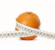 De sinaasappel van het dieet. Royalty-vrije Stock Foto's
