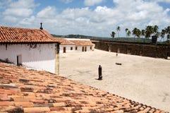 De Sinaasappel van het fort stock foto